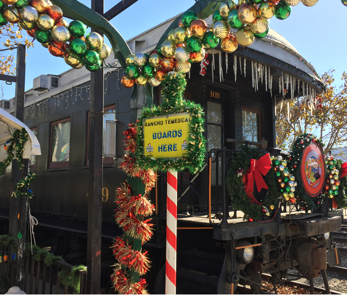 Polar Express and Holiday Train Rides