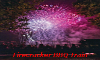 4th of July Firecracker Train
