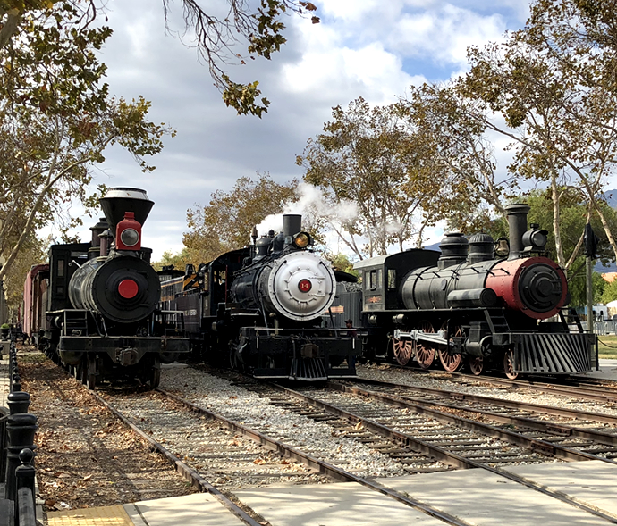 Fillmore & Western Steam Train Ride Tours